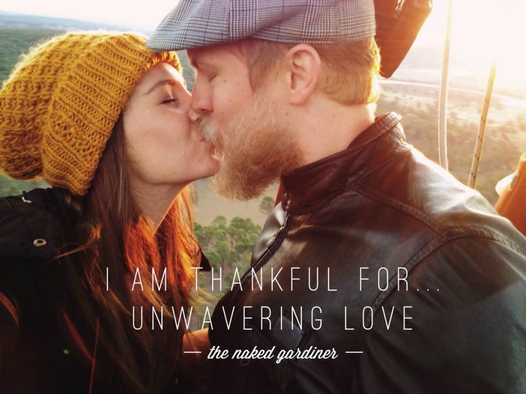 Thankful Thursday Unwavering Love
