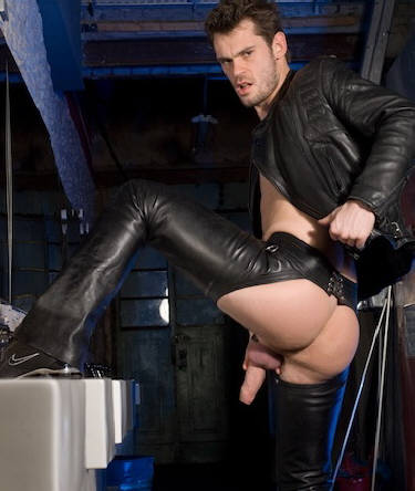 leather nazi gay