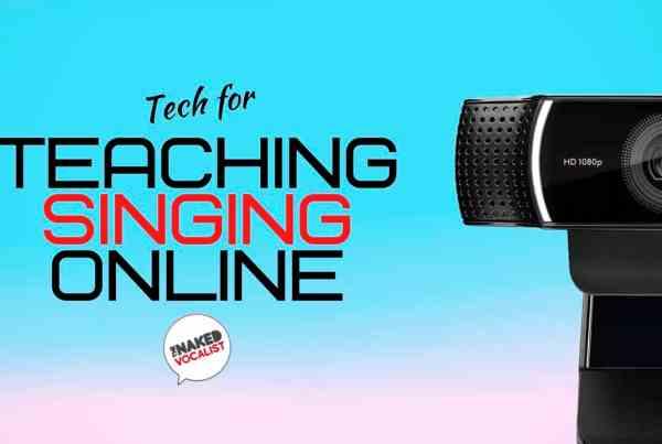 Teaching singing online