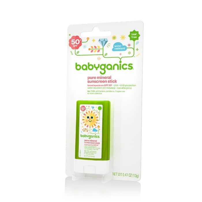 Product Highlight:  Babyganics Mineral-Based Sunscreen
