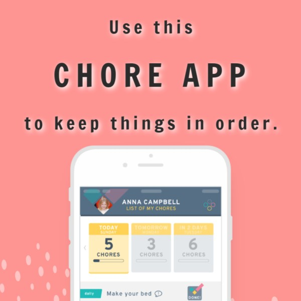 Use the Chore Check App to Keep Things in Order at Home