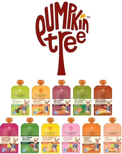 Peter Rabbit Organics/Pumpkin Tree Organics Squeeze Pouches