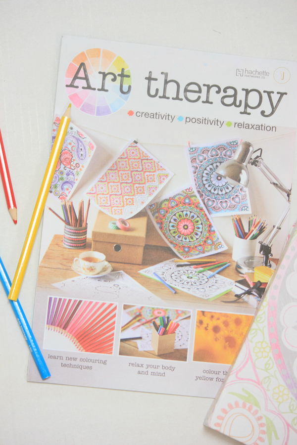 Adult coloring books - art therapy