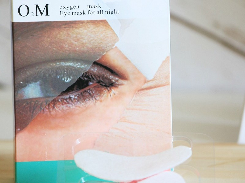 VIIcode O2M Oxygen Eye Masks for Puffy Eyes