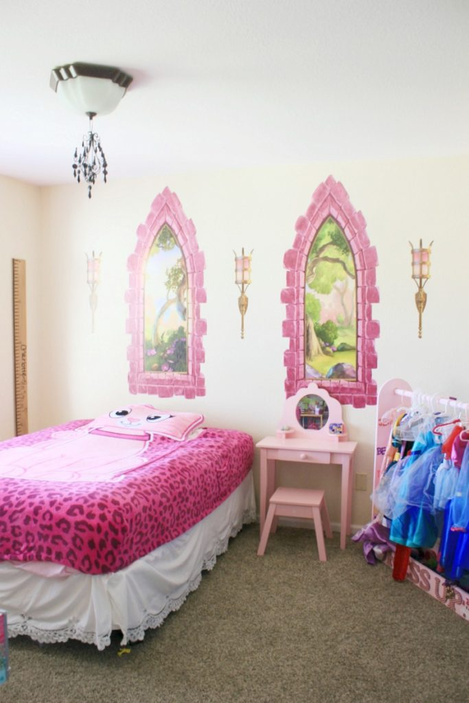 Pink Princess Room Ideas Wall Ah Decals Review The Naptime Reviewer