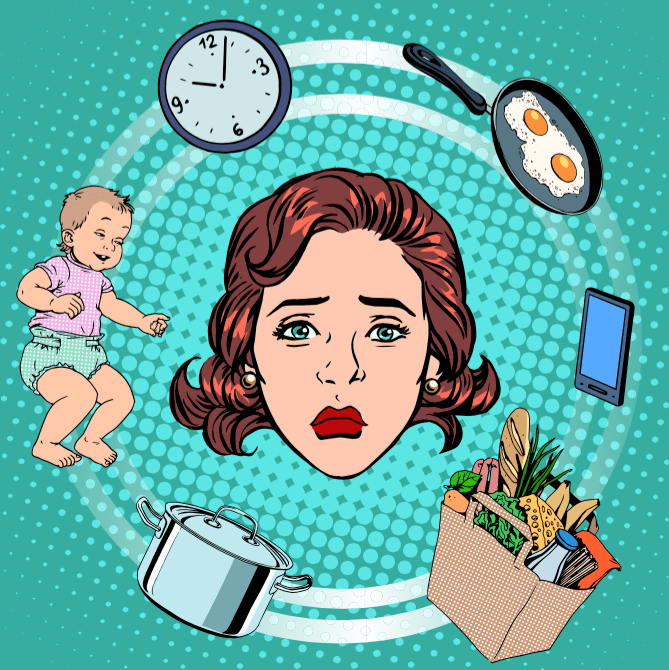 Things That Work-At-Home-Moms Say - From a Mommy Blogger's Perspective