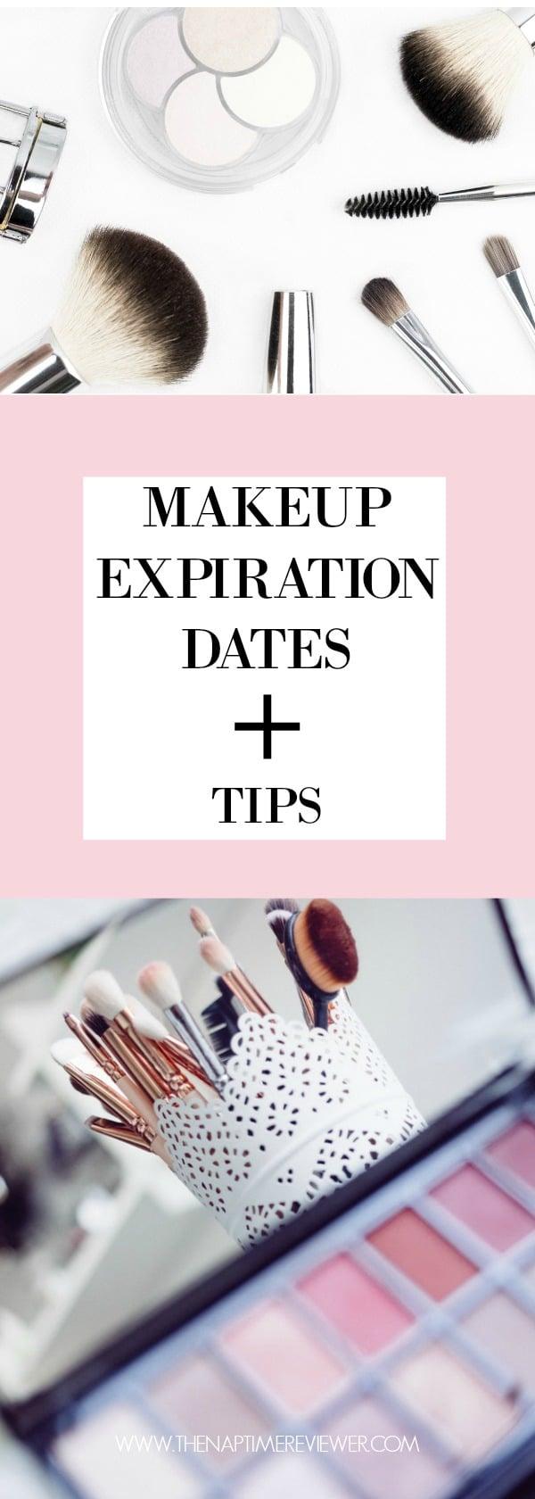 Makeup Expiration Dates and Tips