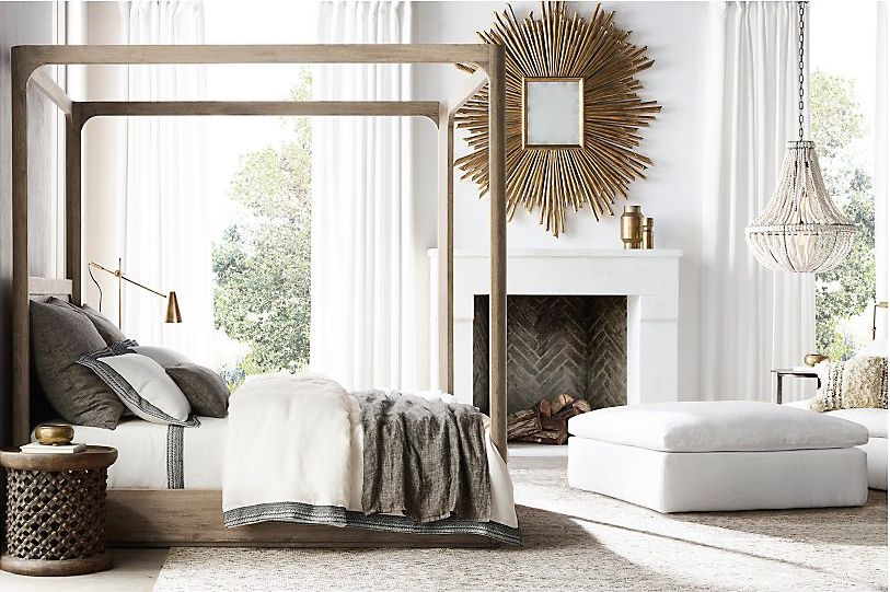 Restoration Hardware Bedroom Inspiration - Create a Romantic Bedroom