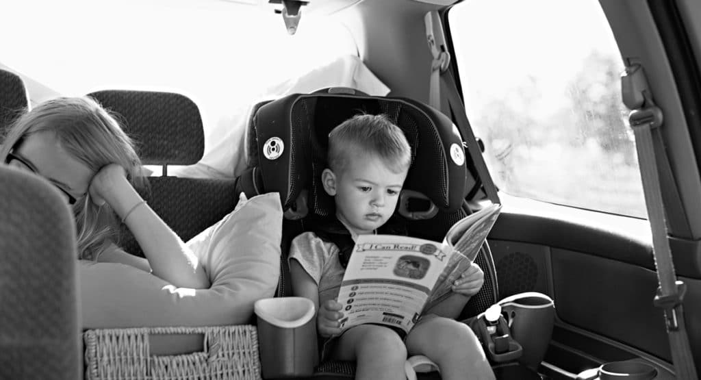 road trip with two kids