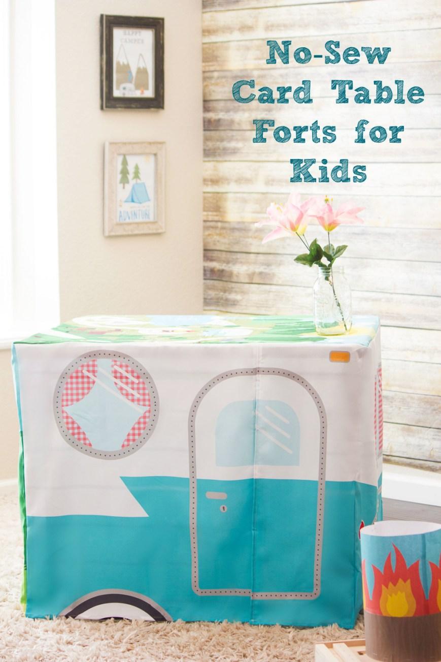 DIY Fort Kit for Kids
