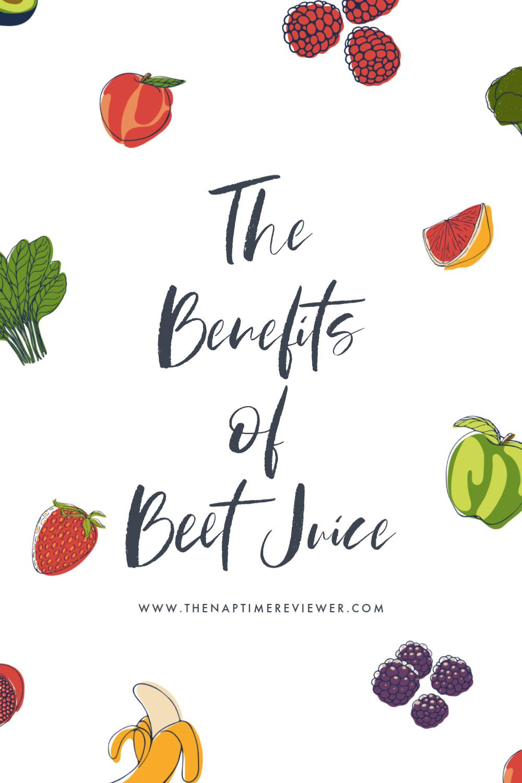 Beetology - The Benefits of Beet Juice