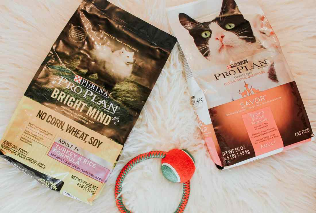 Purina Pro Plan Dog and Cat Food