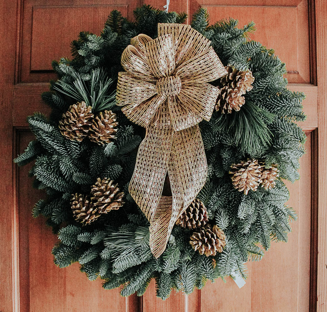 Fresh Christmas Wreaths.Trending Fresh Christmas Wreaths The Naptime Reviewer