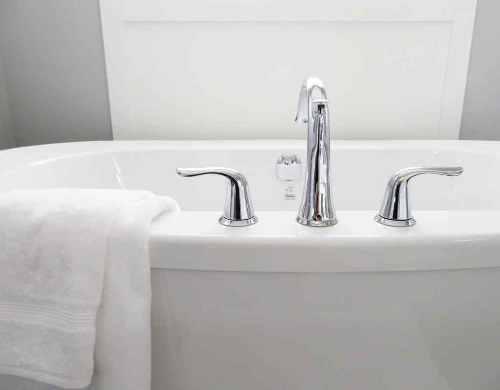 Modern Bathtub - Master Bathroom Updates