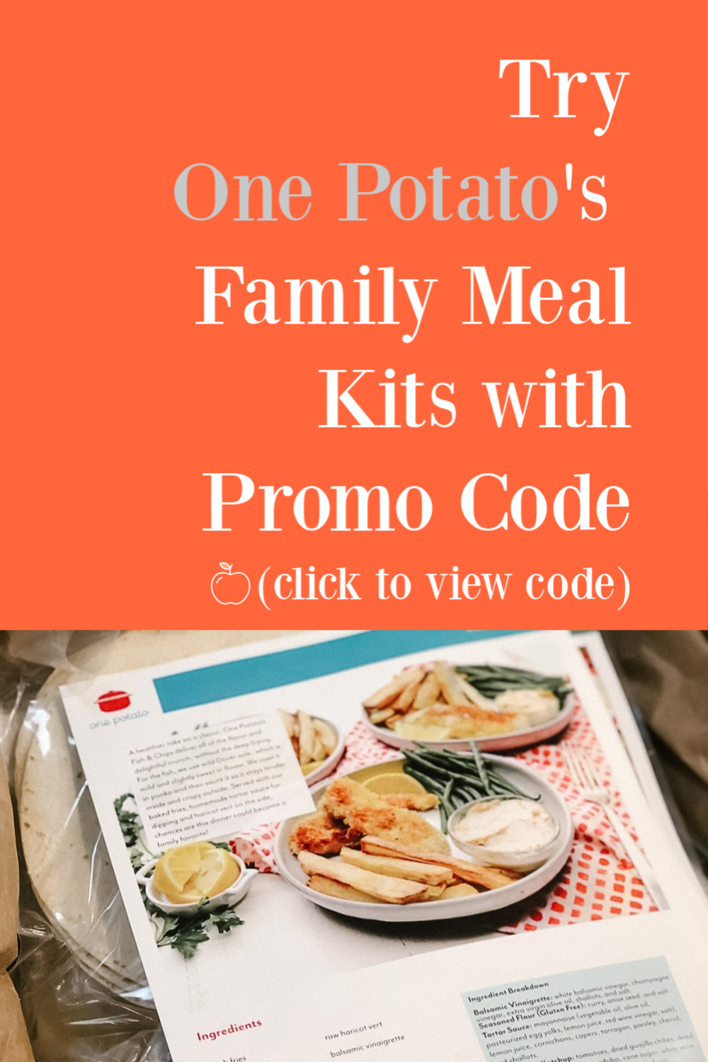 One Potato coupon code Graphic