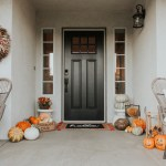 Fall Front Porch Decor Ideas Farmhouse Style Door Reveal The Naptime Reviewer