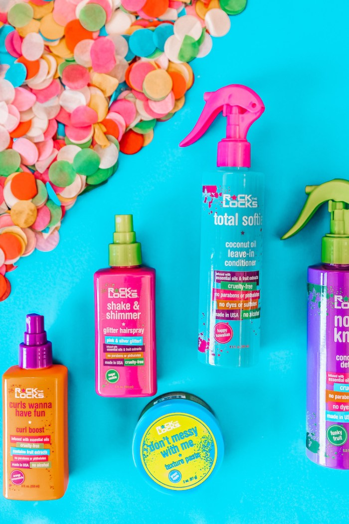 Rock the Locks Kids Hair Products Review + Giveaway