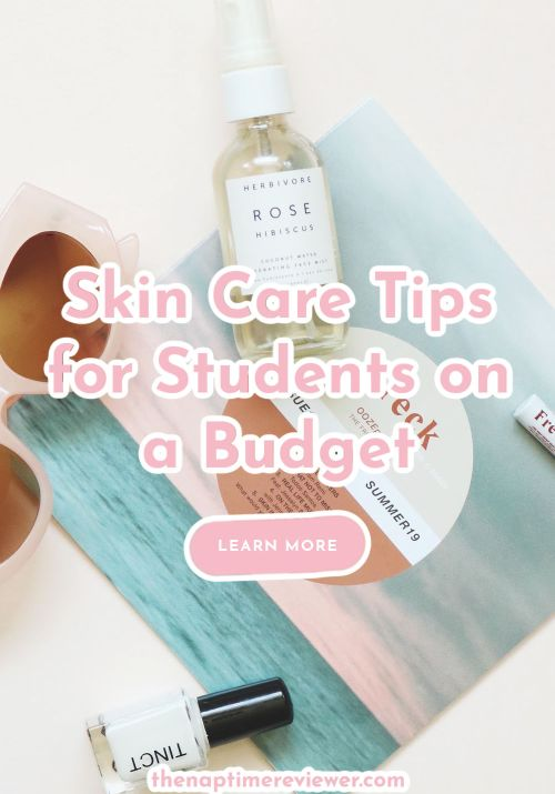 Skin Care Tips for Students on a Budget