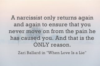 How to move on from hookup a narcissist