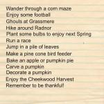 Nashville Fall Bucket List