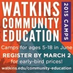 Watkins Community Eduction Programs