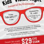 Kids' Vision Night at Visionworks