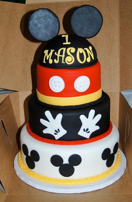 Image Result For Mickey Mouse St Birthday Cake Smash