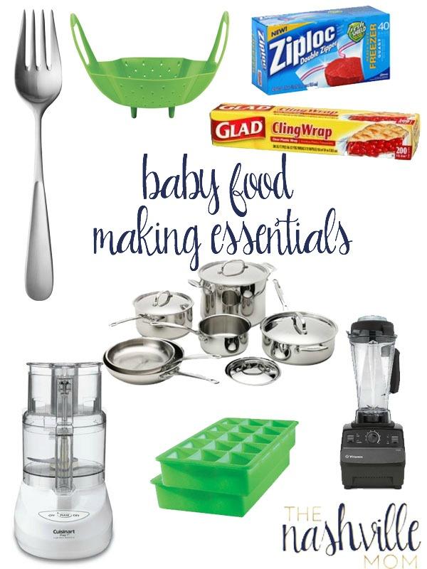 Baby Food Making Essentials