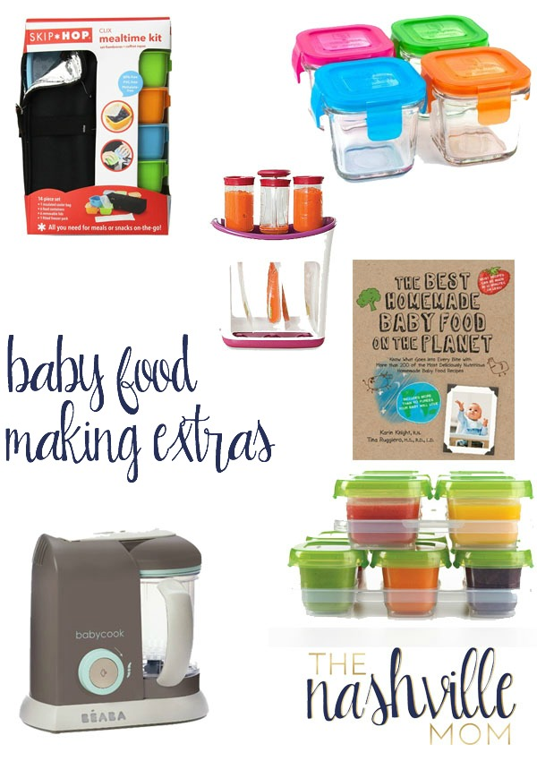 Baby Food Making Extras