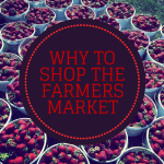 Why support your local farmers market?