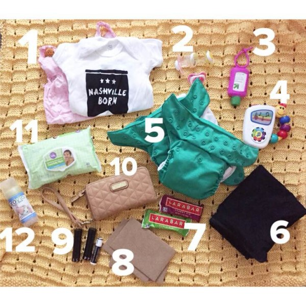 What's in my diaper bag (Round 3)