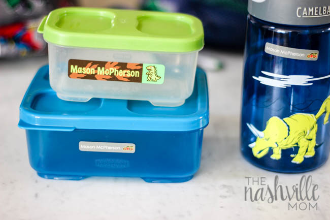 Save your school supplies from getting lost with Mabel's Labels