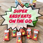 SUPER easy eats on the go