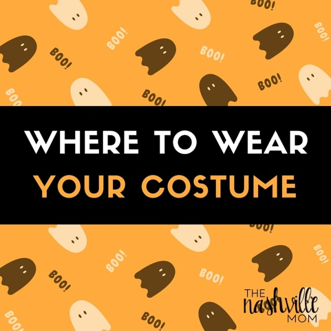 Where to wear your costume in Nashville