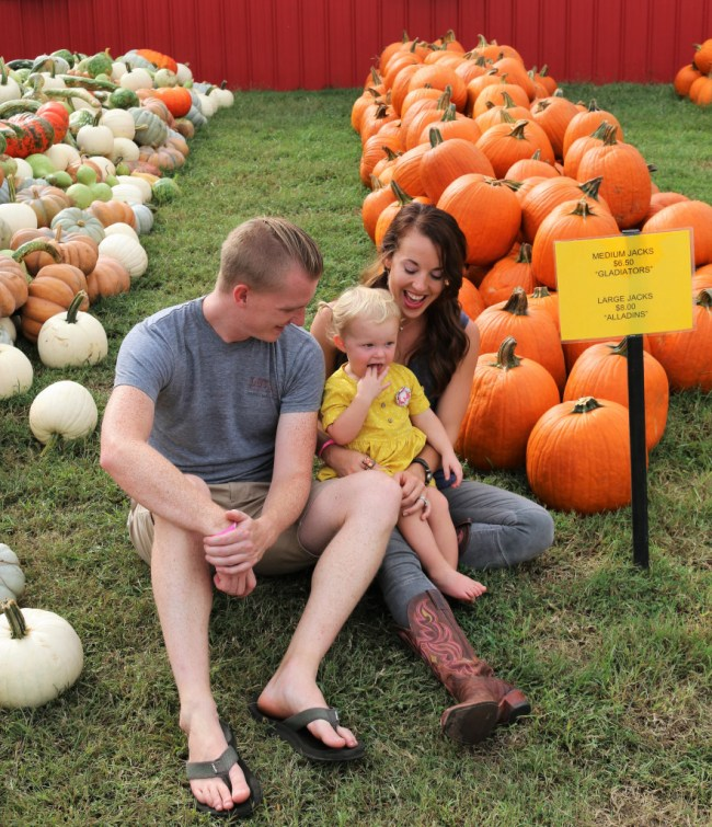 our family at Lucky Ladd Farm