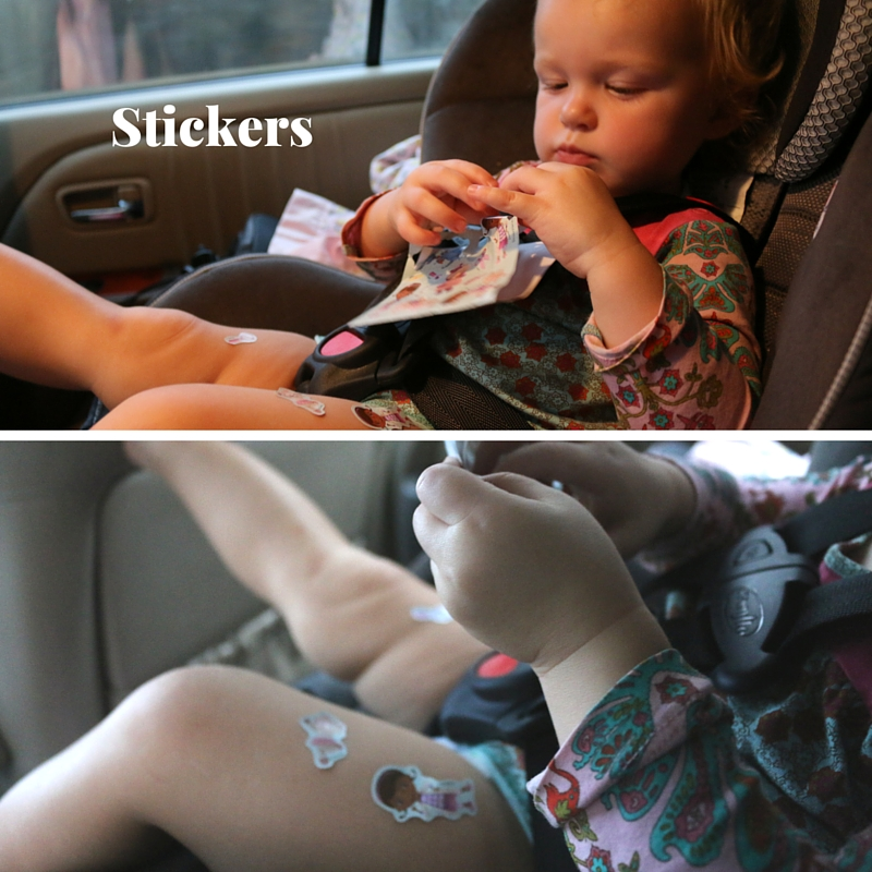 stickers for toddler while traveling