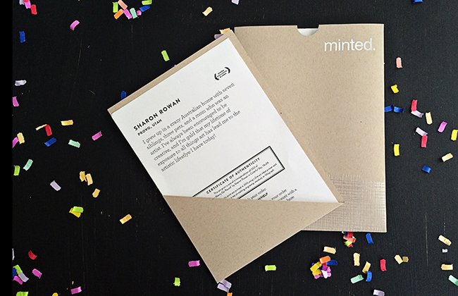 Mad about Minted