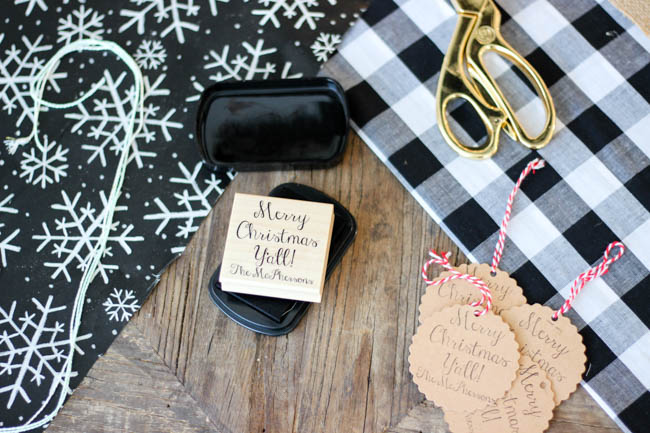 Mollie and Lou Custom Stamps