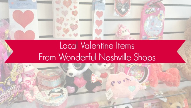Nashville Local Valentine's goodies for your kids