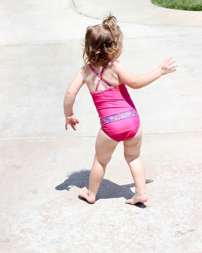 Fasten swimwear