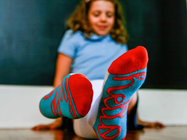 Back to school gear- code socks