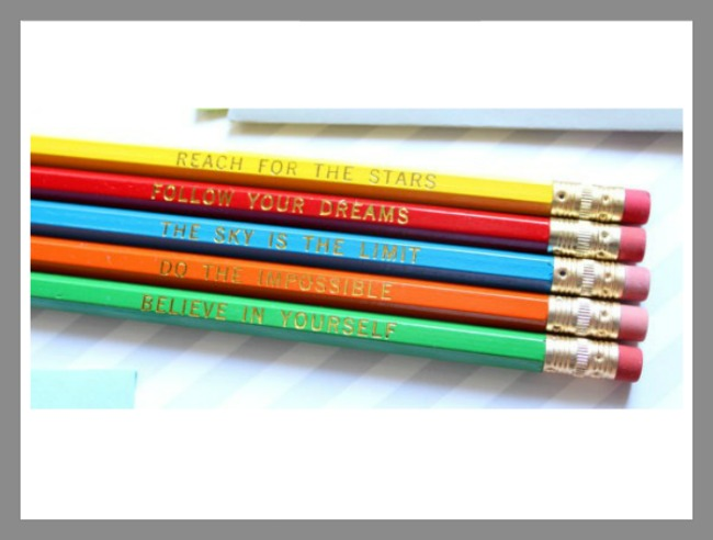 back to school gear- awesome pencils
