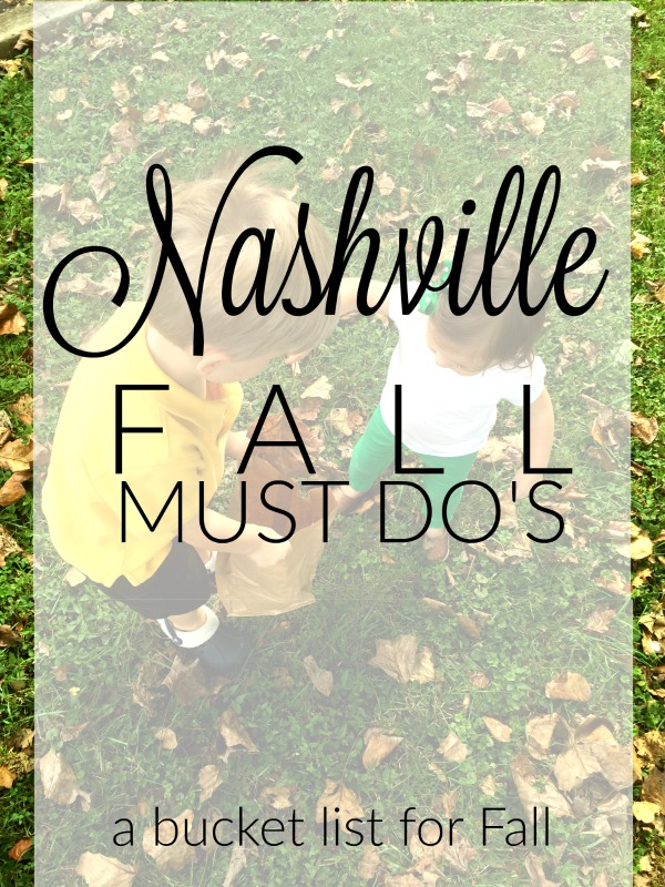 Must Do Activities In Nashville This Fall