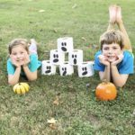Pumpkin Bowling with Elemental Recycled Products