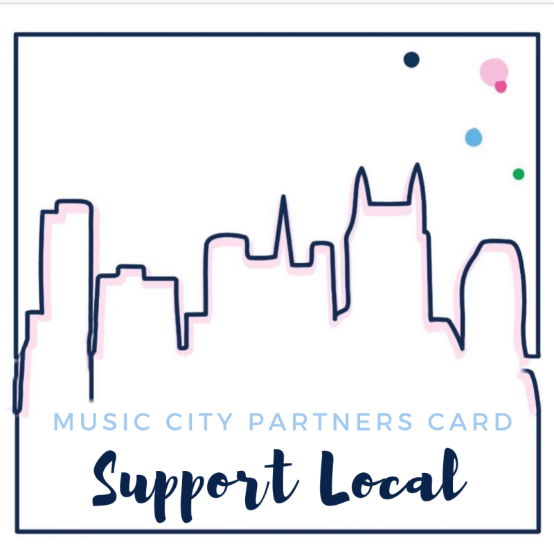 Music City Partners Card