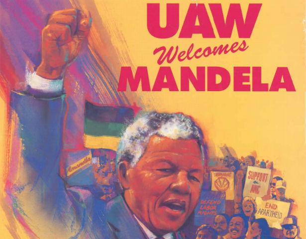 nelson mandela union man the nation