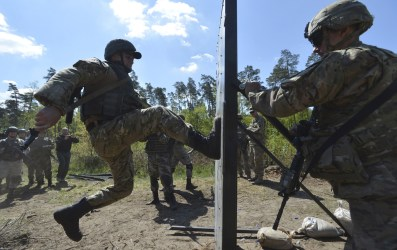 Military Exercise in Ukraine