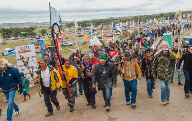 March against the North Dakota pipeline