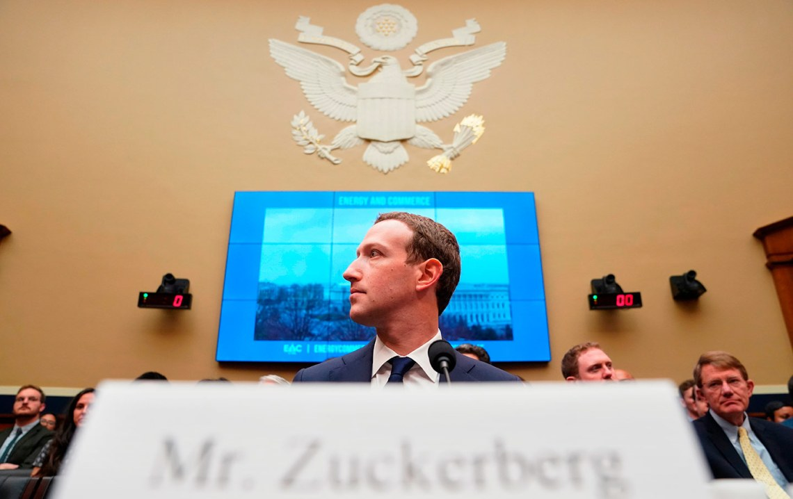 Mark Zuckerberg testifies to Congress
