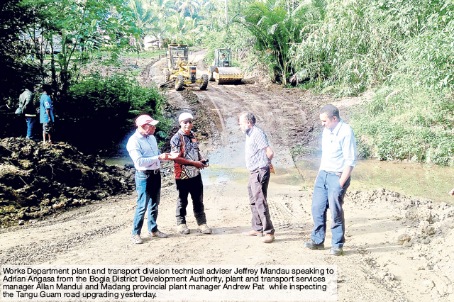 Bogia development authority make roads its priority - The National